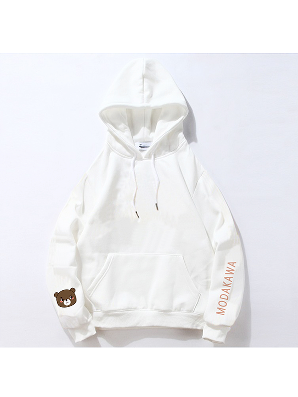 Modakawa Sweatshirt White / M Modakawa Anniversary Limited Edition Hoodie : Communication