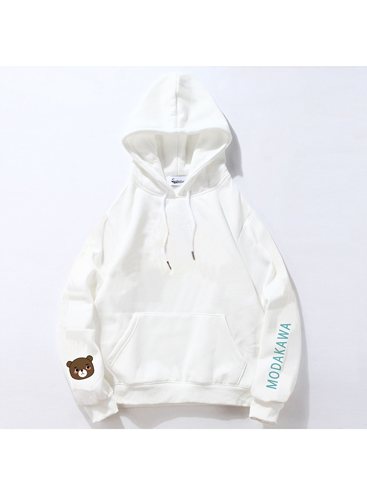 Modakawa Sweatshirt White / M Modakawa Anniversary Limited Edition Hoodie : Happy Easter!(Green Dinosaur)