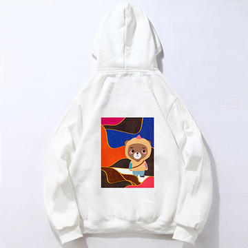 Modakawa Sweatshirt White / M Modakawa Anniversary Limited Edition Hoodie: Surface Space