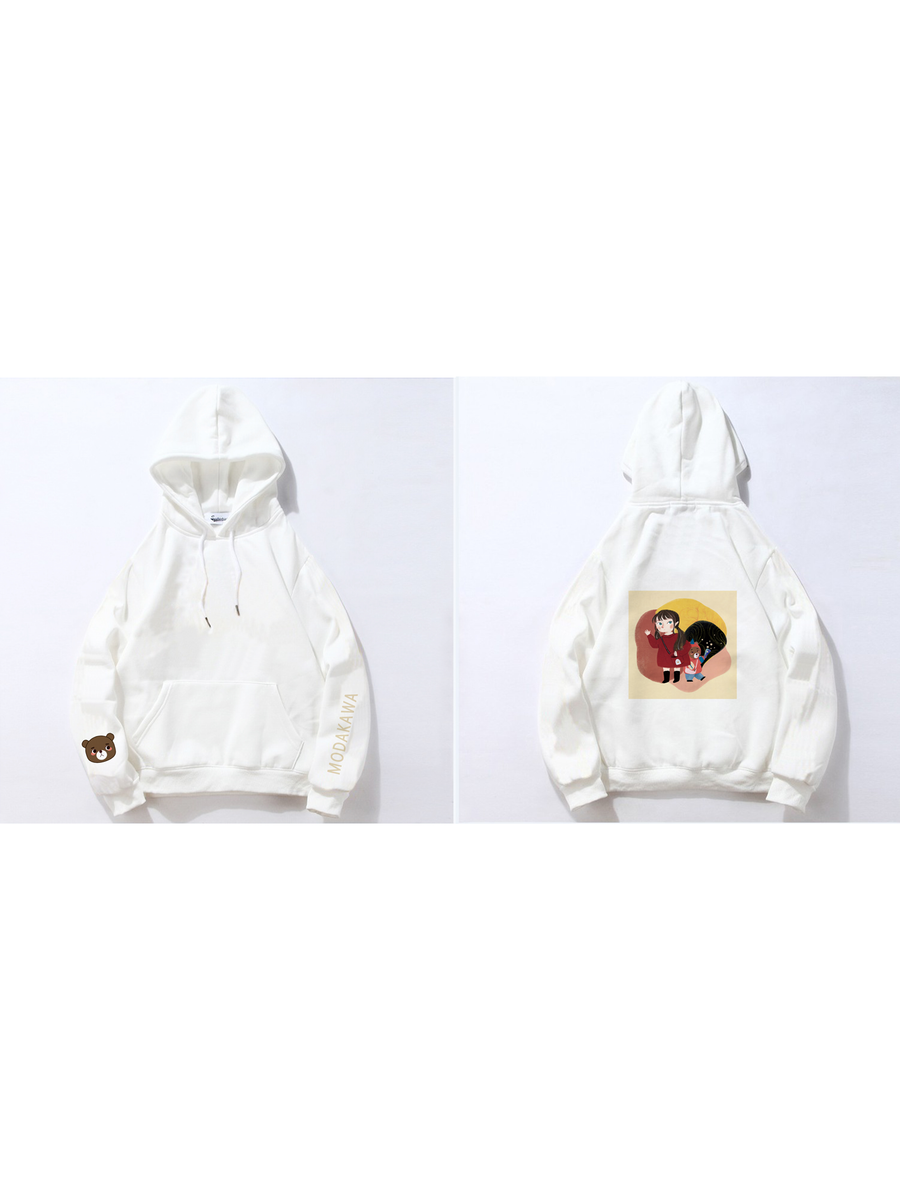 Modakawa Sweatshirt White / M Modakawa Anniversary Limited Edition Hoodie : With You