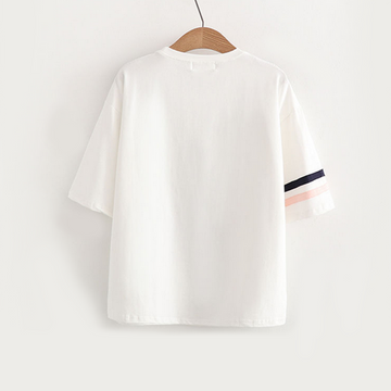 Modakawa T-Shirt Have A Good Time Letter T-Shirt