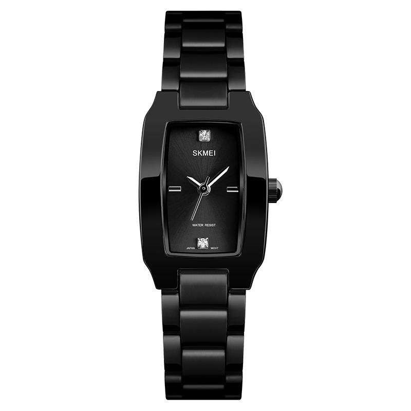 Modakawa Watch Black Casual Elegant Quartz Watch 1400