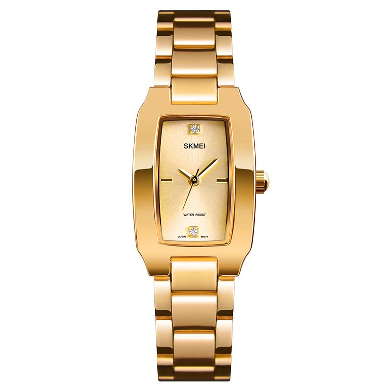 Modakawa Watch Gold Casual Elegant Quartz Watch 1400