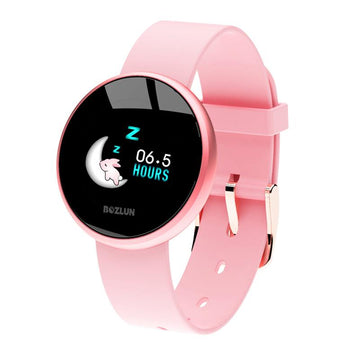 Modakawa Watch Pink Fashion Smart Bracelet Waterproof Watch B36