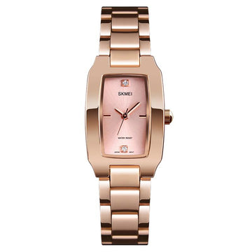 Modakawa Watch Rose Gold Casual Elegant Quartz Watch 1400