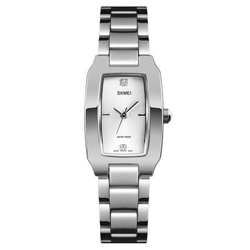 Modakawa Watch Silver Casual Elegant Quartz Watch 1400