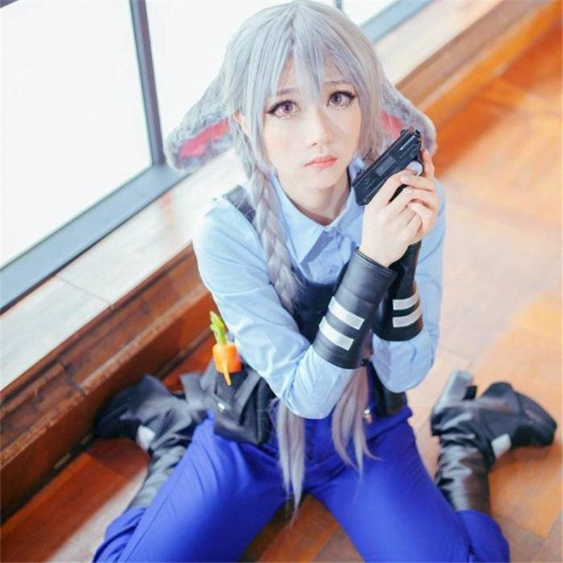 Modakawa Wig Granny Grey Long-Hair Wig