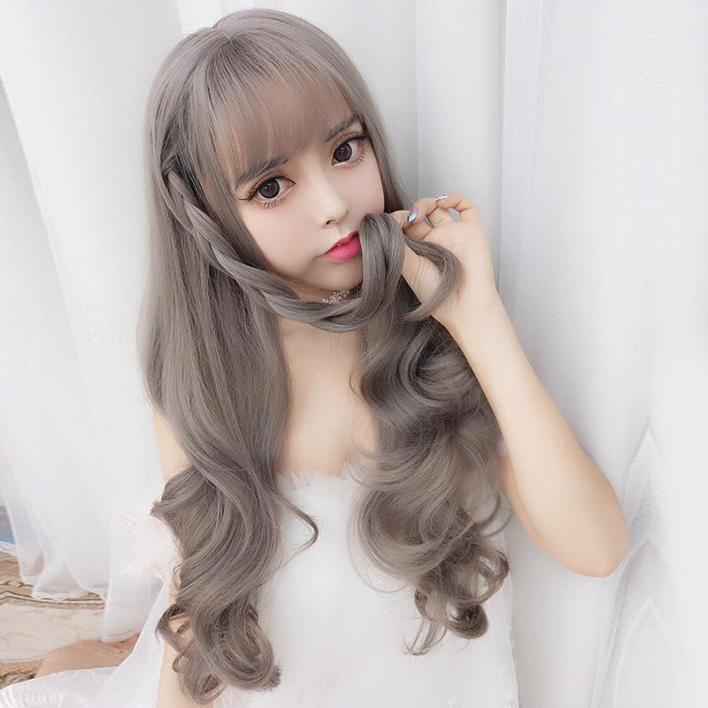 Modakawa Wig Big Wavy Long Curly Wig