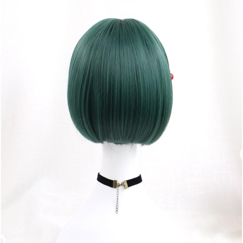 Modakawa Wig Kawaii Bobo Short Hair Wig With Bangs