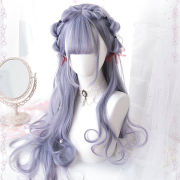 Modakawa Wig Lolita Daily Long Curly Wig