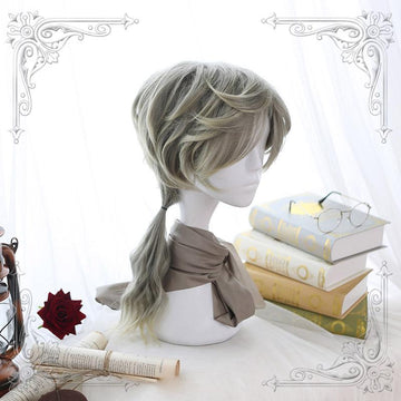 Modakawa Wig Men Long Curly Cosplay Wig