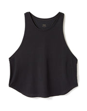 RACERBACK TANK IN BLACK