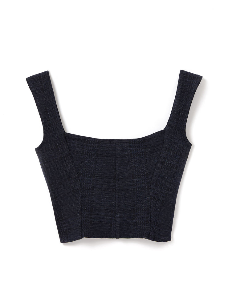 MADISON BUSTIER TOP IN NAVY
