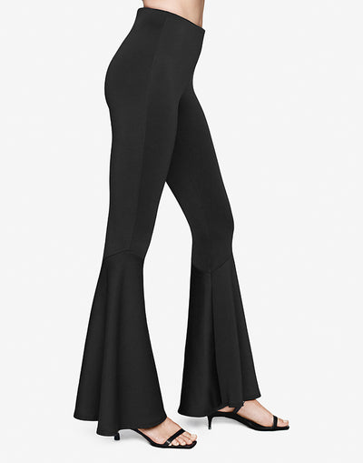 Black Bell Flare Pant