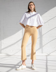 KICK FLARE PANTS IN SAND