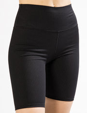 BIKER SHORTS IN BLACK