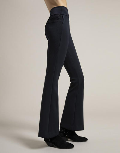Mini Black Flare Pants