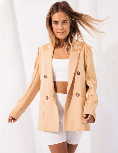 BLAZER IN NUDE