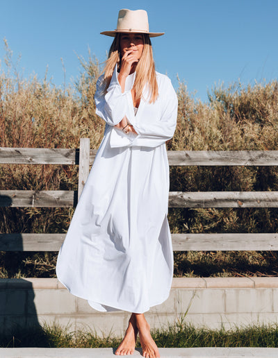TROPEZ OVERSIZED SHIRT DRESS