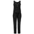 Gift Day Sexy V Collar Sleeveless Slim Jumpsuit With Pockets