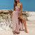 Gift Day Sexy Halter Off Shoulder Maxi Dress