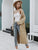 Winter mohair long cardigan knitted