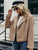 Winter lamb fur women jacket