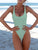 Gift Day Bikini One-Piece Swimwear With Chest Pad