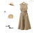 Gift Day Fashion Solid Color Cotton/Linen Bandage Jumpsuits