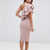 Gift Day Sexy Pink One Shoulder Bodycon Dress