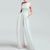 Gift Day Women's Casual Square-Cut Collar Pure Color Sleeveless Jumpsuit