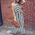 Gift Day Casual Sleeveless Hollow Backless Striped Cotton And Linen Jumpsuit