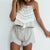 Gift Day Fashion Tassel Apron Shorts Set