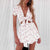 Gift Day Fashion Casual Big Open Beach Playsuit