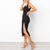 Gift Day Fashion Sexy Side Slit Sexy Hip Bodycon Dress
