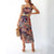 Gift Day Fashion Casual Strap Print Lace Dress