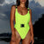 Gift Day 2019 Sexy Beach Buckle Adjustment BIKINI One-Piece Swimsuit