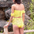 Gift Day Summer Hand-Knitted One-Shoulder Bikini Swimsuit