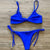 Gift Day New Sexy Split Swimsuit Triangle Bikini Beach Swimsuit Bikini
