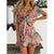 Gift Day Fashion Printed Slim Mini Dress