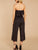 Gift Day V-Neck Short-Sleeved Slinky + Straight Pants Two Piece Suit