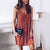 Gift Day Fashion Solid Color V-Neck Sling Sleeveless Mini Dress