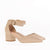 Gift Day Comfortable Thick Heel With Pointed Hollow Sandals