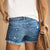 Gift Day Joker High Waist Slimming Short Jeans