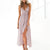 Gift Day Fashion V-Neck Sling Sleeveless Print Dress