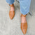 Gift Day Summer Side With Low Heel Buckle Pointed Toe Loafers