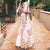 Printed Bohemian Holiday Maxi Dress