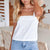 Gift Day Fashion Casual Sling Solid Color Vest Top