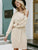 Casual knitted pullover dress Autumn