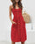Gift Day Single Breasted Sleeveless Sling Midi Dresses